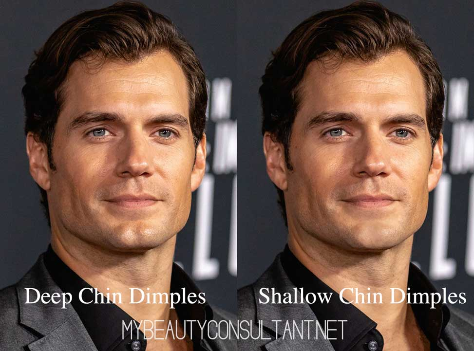 Henry Cavill Chin Dimple